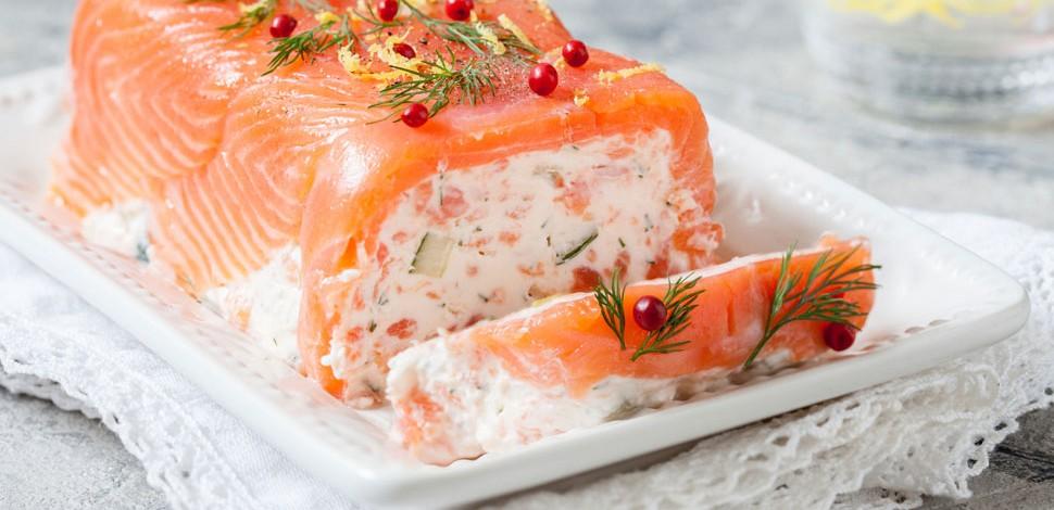 Tronchetto di salmone