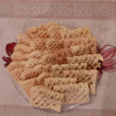 Le pizzelle (prodotto tradizionale d'Abruzzo)